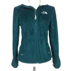 The North Face Small Teal Fleece Zip Up Jacket